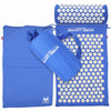 Image of Yoga Mat Acupressure And Pillow Set Back Body Massage Relieve Stress Tension Pain For - Blue - Accessories