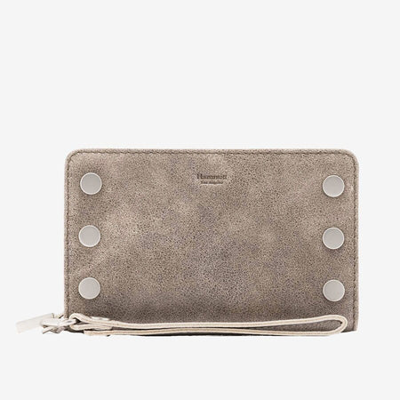 Nash Small Clutch, Pewter BS