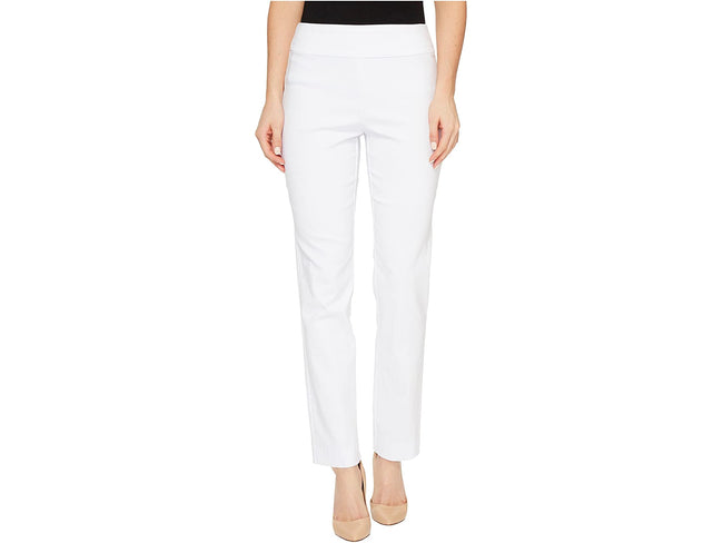 SOLID Pull On Pant, White