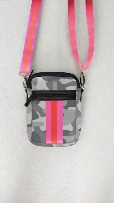 Casey Cell Phone Bag Madison, Rise Wht Camo