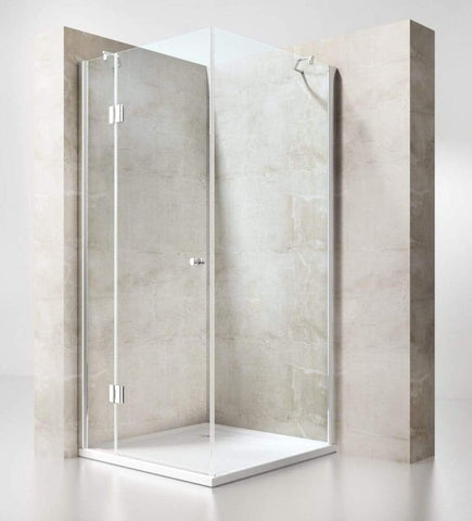 Image showing a complete shower enclosure.