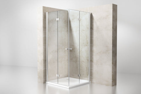 bi-fold shower screens