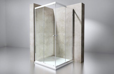 sliding shower