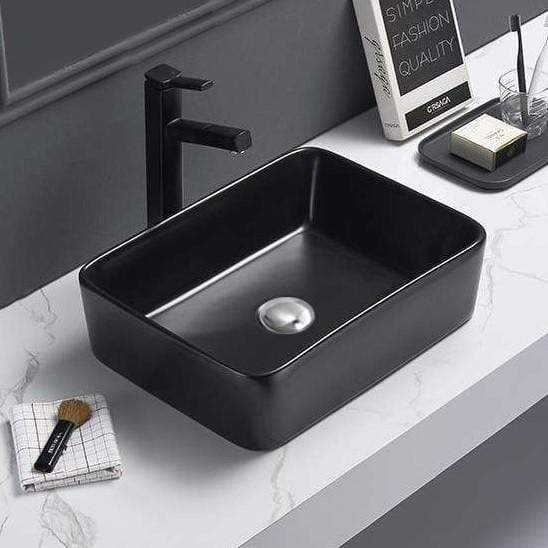 Basin Default Black Catia Countertop Basin Mexen