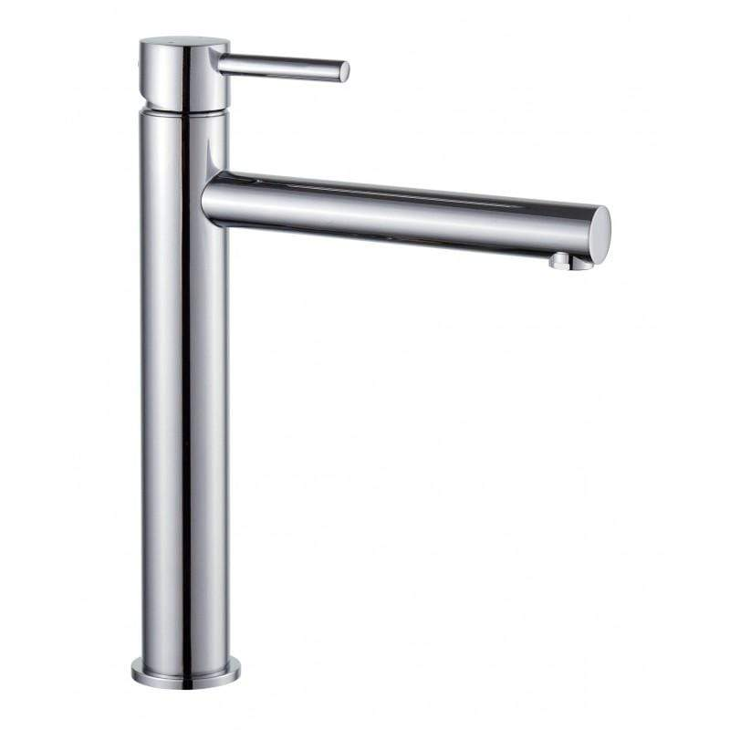 Basin Tap Chrome Tall Washbasin Tap - Elba Bathroom Store