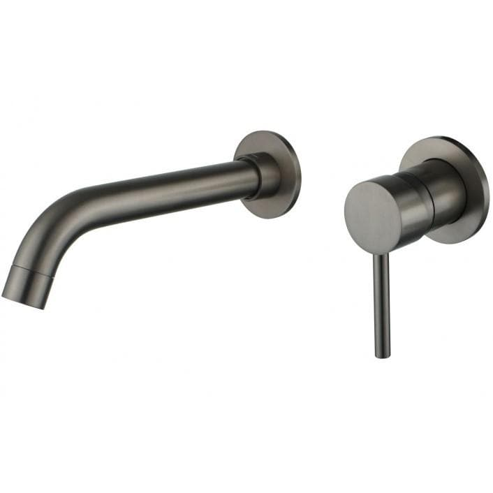 Taps Graphite Wall Mounted Taps Mixer Tap Mexen