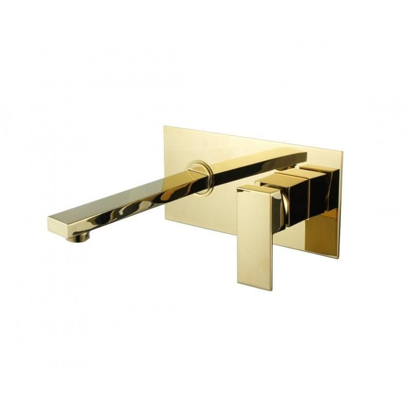 Taps Gold Wall Mounted Tap | WM03 | High Gloss Finish Bathroom Store Select