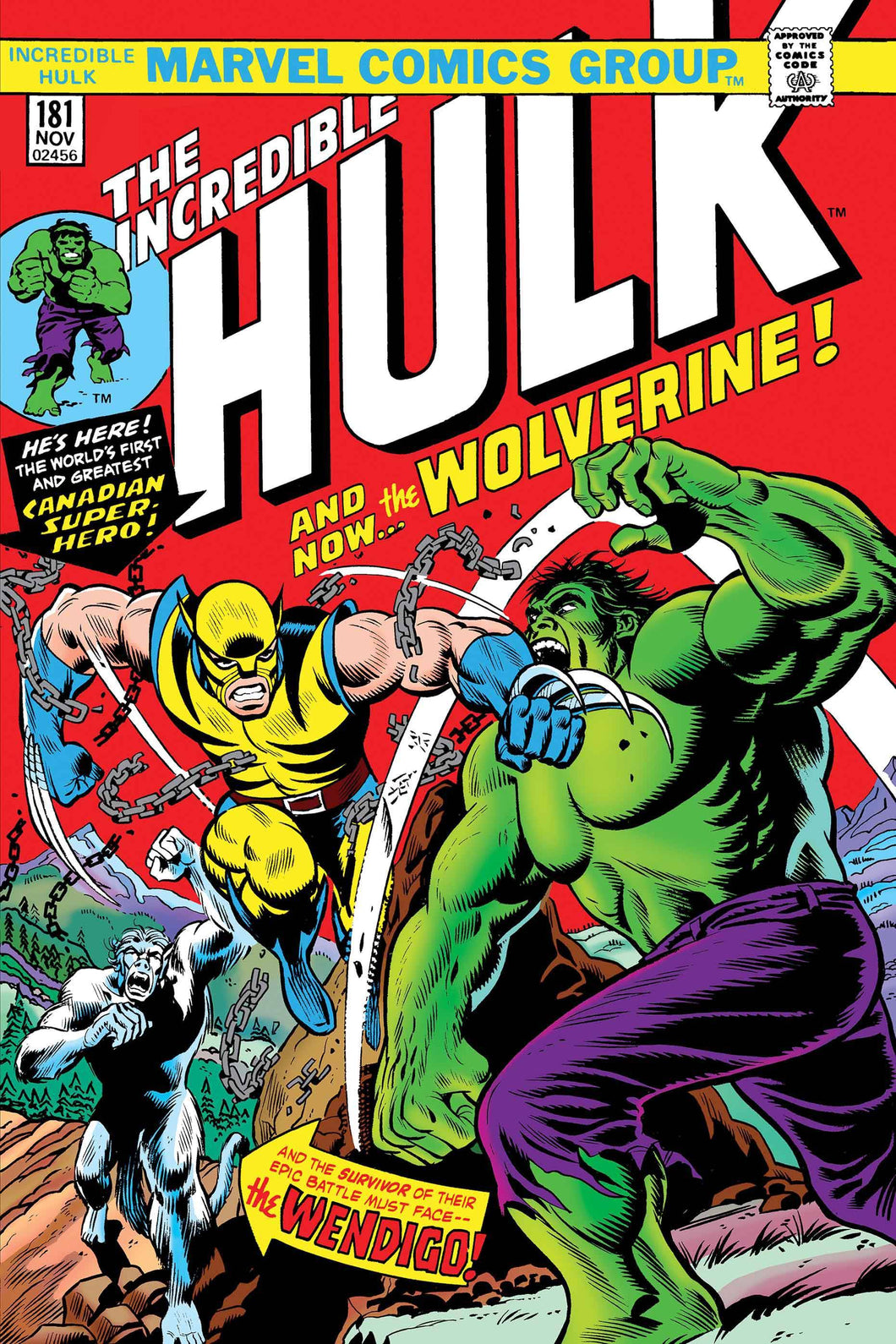 INCREDIBLE HULK #181 FACSIMILE EDITION NEW PTG  05/29/19 FOC 05/06/19