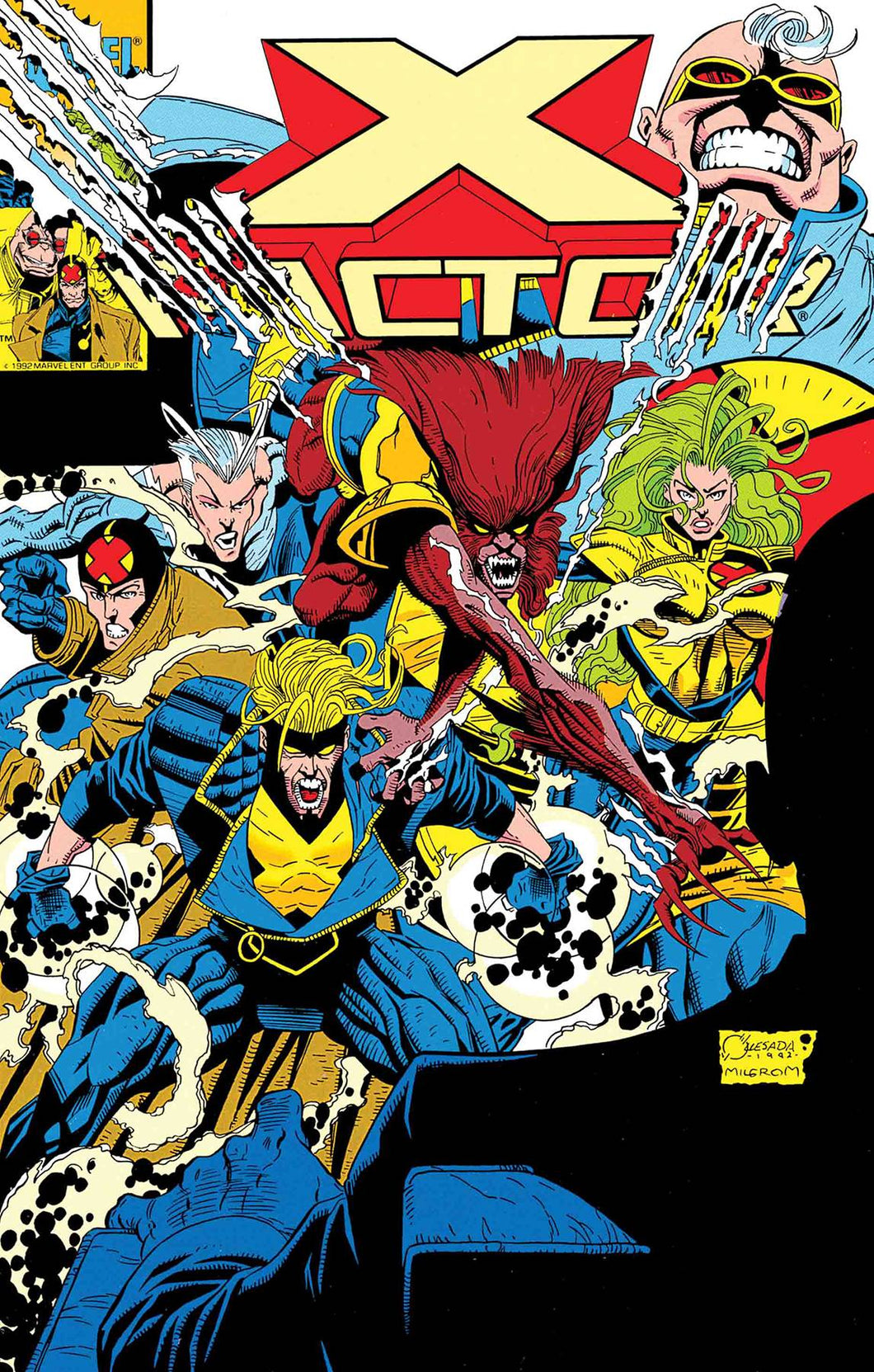 X-FACTOR #87 FACSIMILE EDITION  08/14/19 FOC 07/22/19