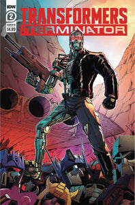 TRANSFORMERS VS TERMINATOR #2 (OF 4) CVR B COLLER 06/24/20