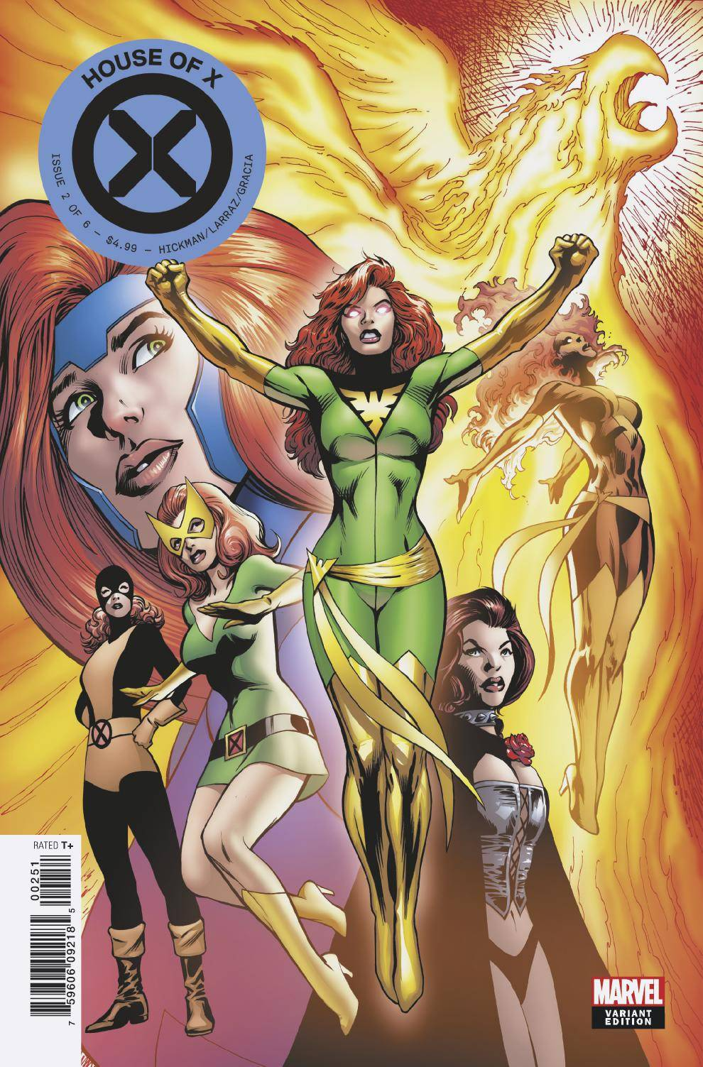 HOUSE OF X #2 (OF 6) DAVIS CHARACTER DECADES VARIANT 08/07/19 FOC 07/15/19