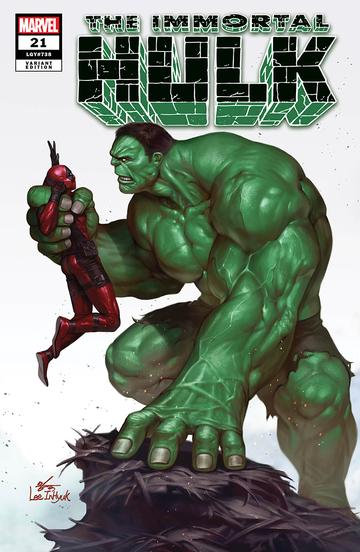 IMMORTAL HULK #21 INHYUK LEE EXCLUSIVE TRADE DRESS & VIRGIN VARIANT COVER OPTIONS