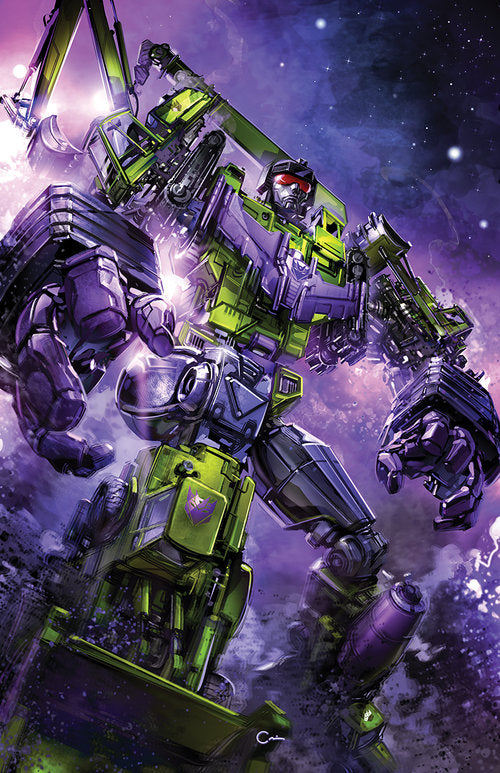 TRANSFORMERS GALAXIES #1 CLAYTON CRAIN VIRGIN EXCLUSIVE VARIANT