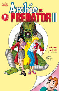 ARCHIE VS PREDATOR 2 #1 (OF 5) CVR E DAN PARENT 07/24/19 FOC 07/01/19