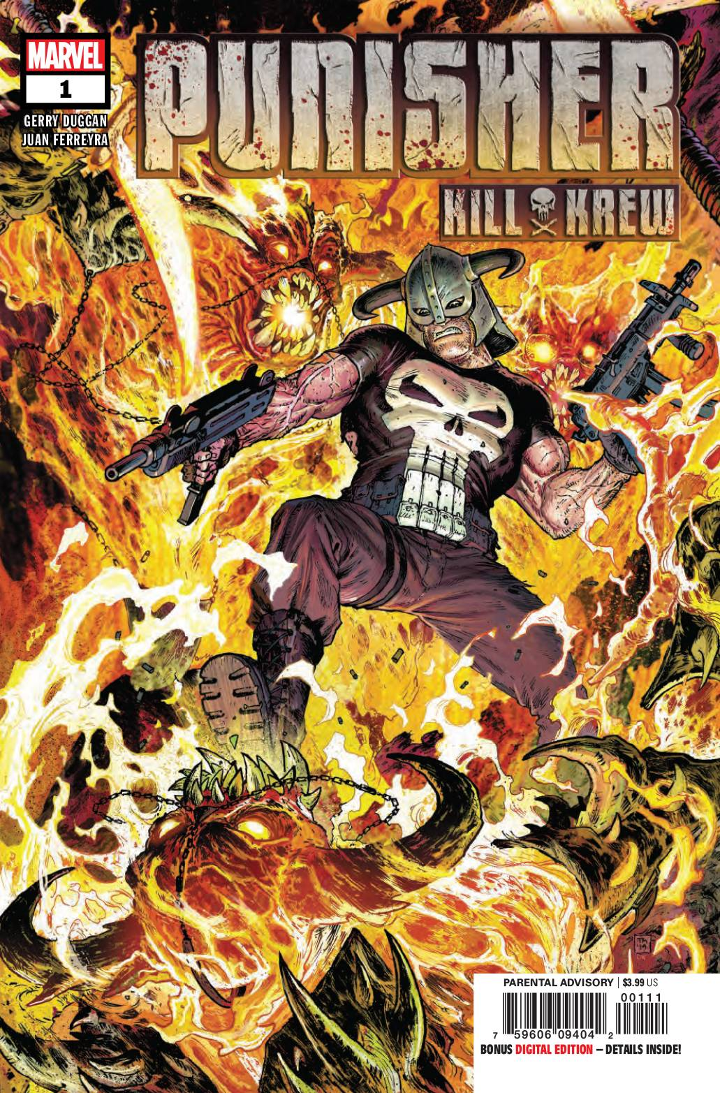PUNISHER KILL KREW #1 (OF 5) 08/14/19 FOC 07/22/19