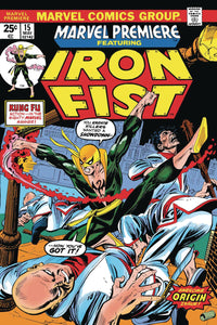 TRUE BELIEVERS IRON FIST BY THOMAS & KANE #1 FOC 08/27
