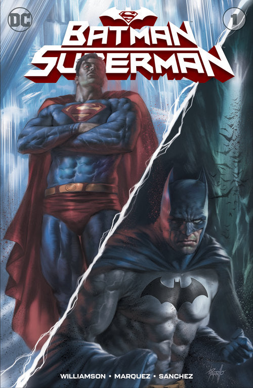 BATMAN SUPERMAN #1 LUCIO PARILLO EXCLUSIVE VARIANT COVER
