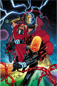 THOR #5 LUPACCHINO COSMIC GHOST RIDER VAR FOC 08/27