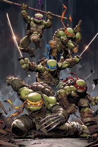 TMNT ULTIMATE 4-PACK #97 #98 #99 #100 SET LIMITED TO 50 RAW SETS