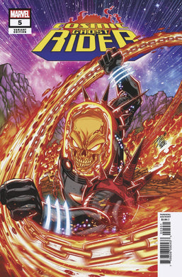 COSMIC GHOST RIDER #5 (OF 5) LIM VAR FOC 10/22