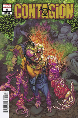 CONTAGION #5 (OF 5) BROWNE VARIANT 10/30/19 FOC 10/07/19