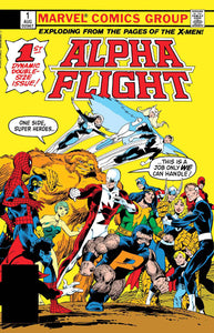 ALPHA FLIGHT #1 FACSIMILE EDITION 05/22/19 FOC 04/29/19