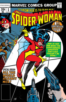 SPIDER-WOMAN #1 FACSIMILE EDITION 09/04/19 FOC 08/12/19