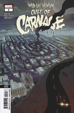 WEB OF VENOM CULT OF CARNAGE #1 2ND PTG BEYRUTH VARIANT 05/08/19 FOC 04/22/19
