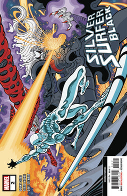 SILVER SURFER BLACK #2 (OF 5) 2ND PTG VARIANT 08/28/19 FOC 08/05/19