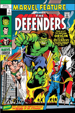 DEFENDERS MARVEL FEATURE #1 FACSIMILE EDITION 05/08/19 FOC 04/15/19