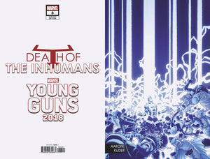 DEATH OF INHUMANS #3 (OF 5) KUDER YOUNG GUNS CONNECTING VAR FOC 08/13