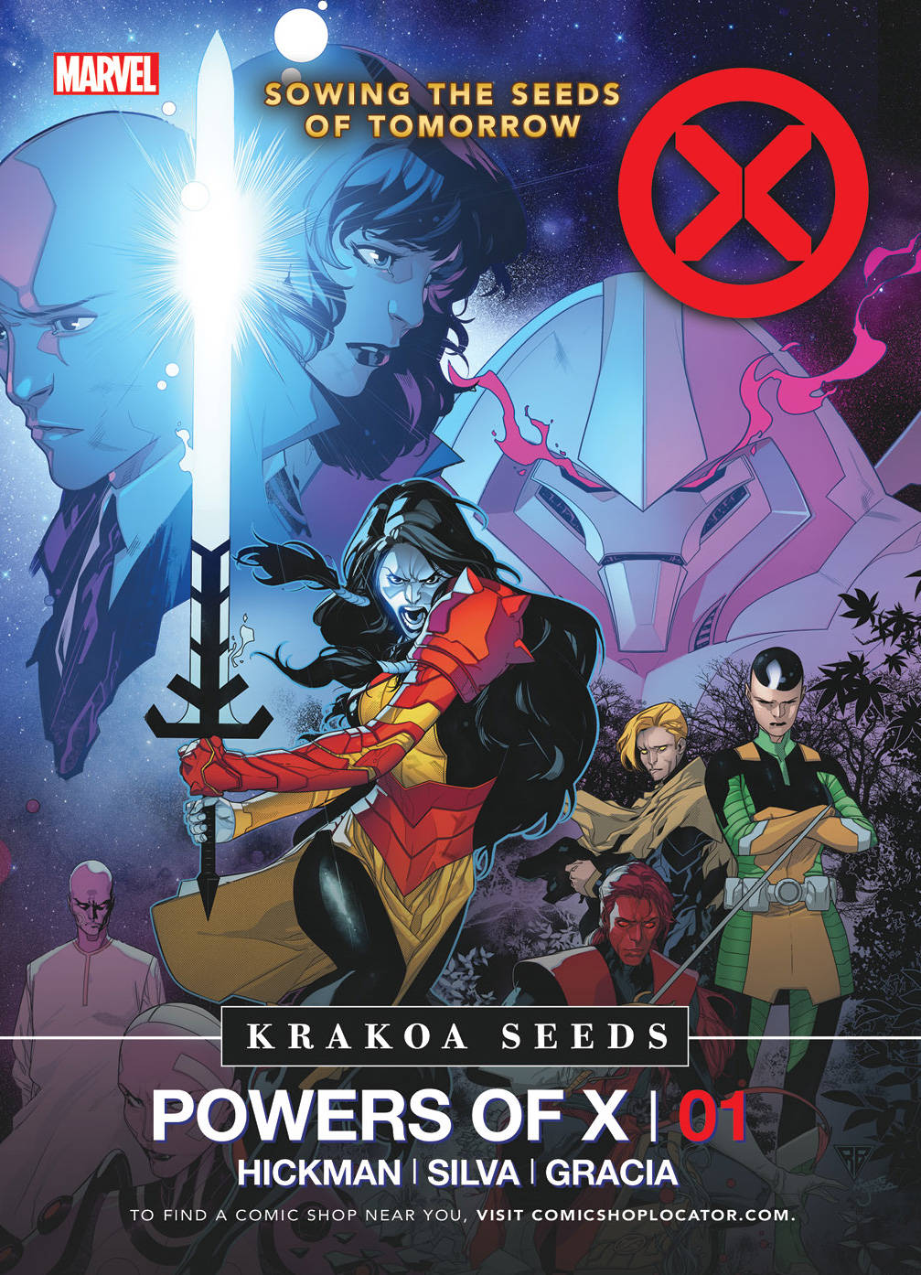 HOUSE OF X POWERS OF X SEED PACKETS FREE WITH EVERY ORDER (MUST BE ADDED TO CART) 07/31/19  FOC 07/01/19