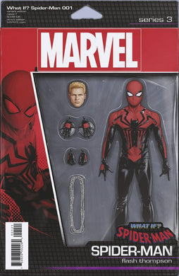 WHAT IF? SPIDER-MAN #1 CHRISTOPHER ACTION FIGURE VAR FOC 09/10
