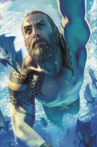 AQUAMAN #51 CARD STOCK MIDDLETON VARIANT  YOTV DARK GIFTS 08/21/19 FOC 07/29/19