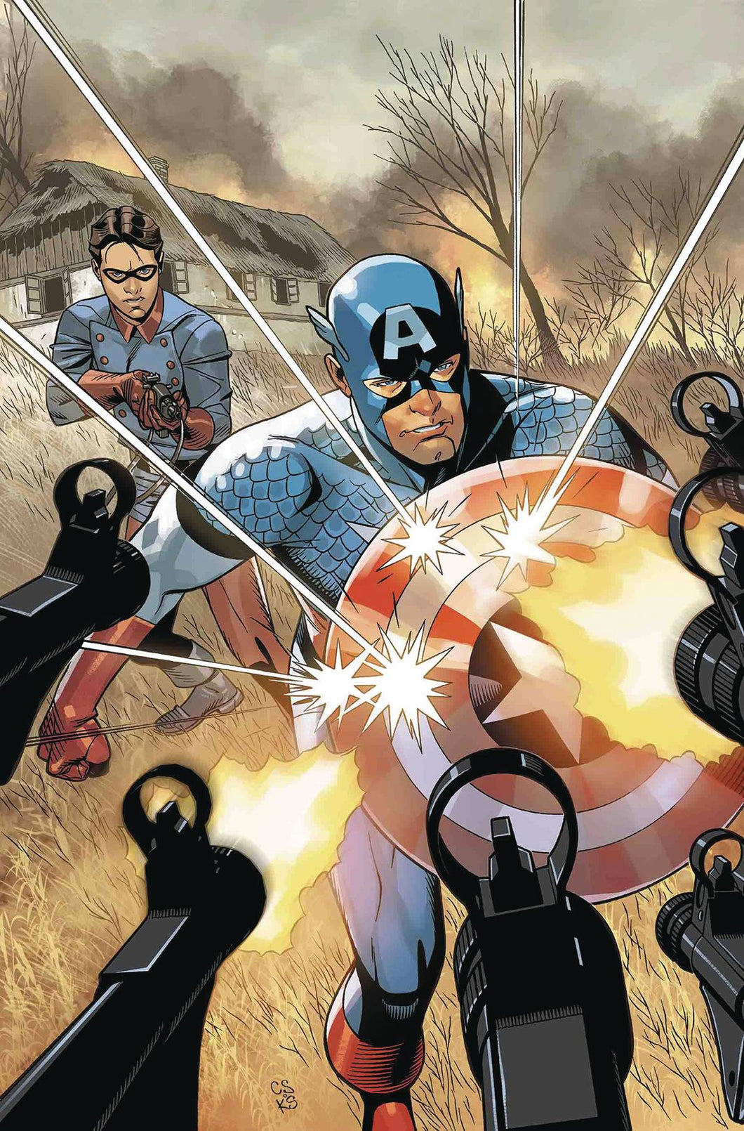 CAPTAIN AMERICA ANNUAL #1 FOC 08/27