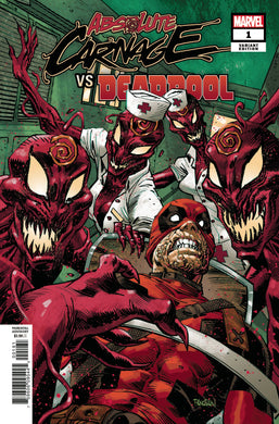 ABSOLUTE CARNAGE VS DEADPOOL #1 PANOSIAN VARIANT 08/21/19 FOC 07/29/19