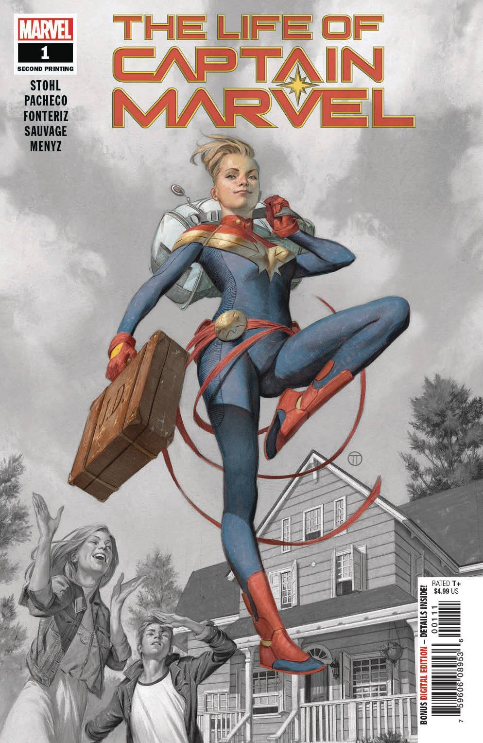 LIFE OF CAPTAIN MARVEL #1 (OF 5) 2ND PTG PACHECO VAR FOC 08/06