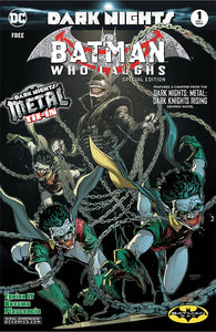 BATMAN WHO LAUGHS #1 BATMAN DAY 2019 SPECIAL ED FREE!!! 09/18/19 FOC 08/12/19