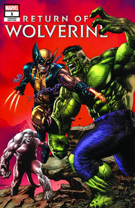RETURN OF WOLVERINE #1 MICO SUAYAN EXCLUSIVE VARIANT COVER HULK181 HOMAGE