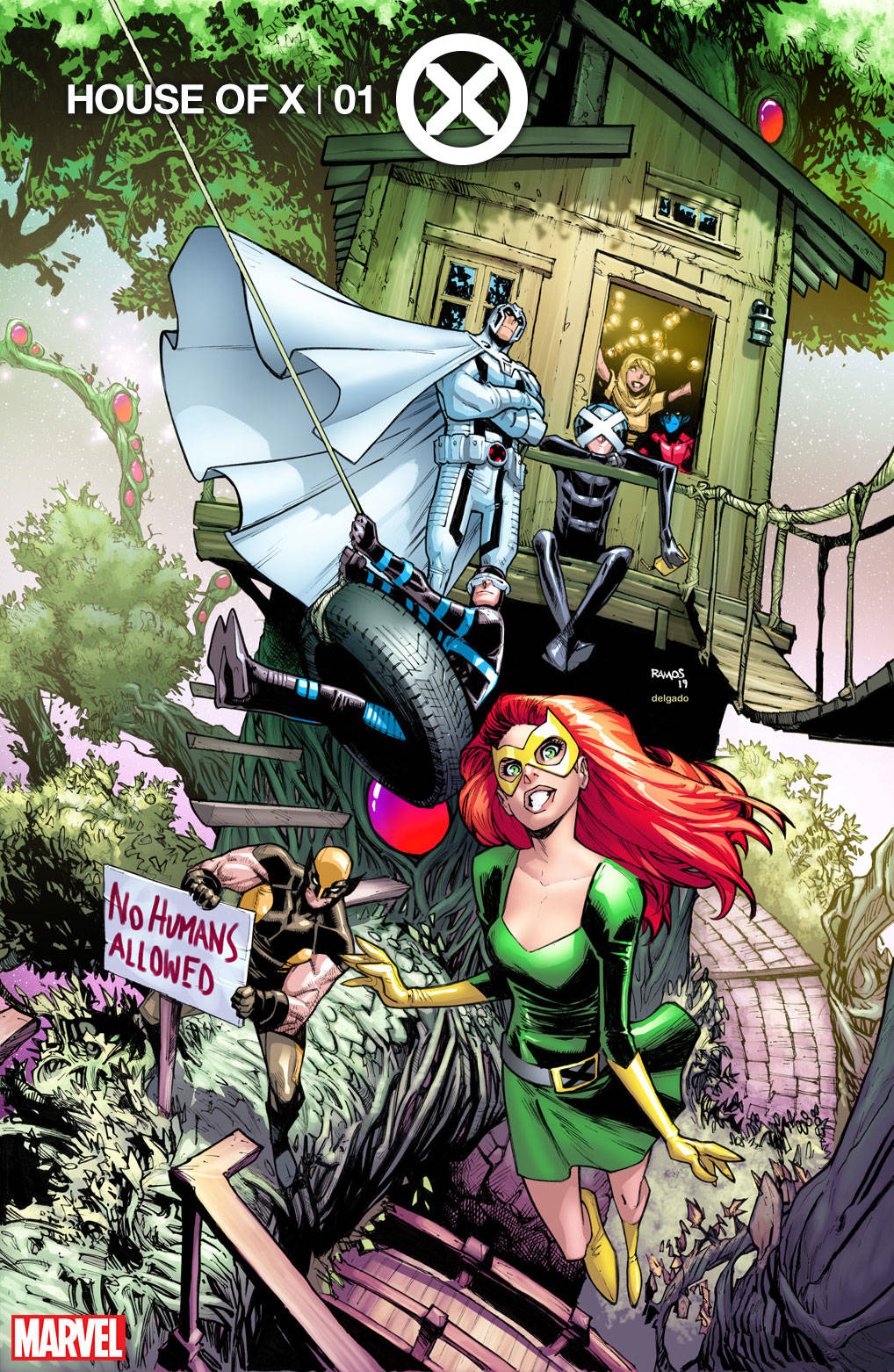 HOUSE OF X #1 (OF 6) PARTY VARIANT 07/24/19 FOC 07/01/19