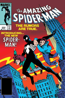 AMAZING SPIDER-MAN #252 FACSIMILE EDITION 04/17/19 FOC 03/25/19