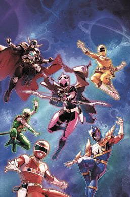 MIGHTY MORPHIN POWER RANGERS #31 MAIN SG ALL-NEW TEAM FOC 09/03