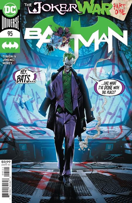 BATMAN #95 JOKER WAR STARTS HERE! 07/22/20