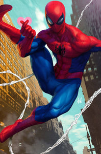 FRIENDLY NEIGHBORHOOD SPIDER-MAN #1 1:100 ARTGERM VIRGIN VARIANT 01/09/19