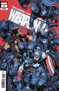 WOLVERINE AND CAPTAIN AMERICA WEAPON PLUS #1 BACHALO VARIANT 07/10/19 FOC 06/17/19
