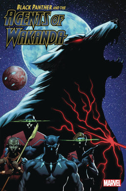 BLACK PANTHER AND AGENTS OF WAKANDA #4 12/11/19 FOC 11/11/19