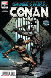 SAVAGE SWORD OF CONAN #6 06/19/19 FOC 05/27/19