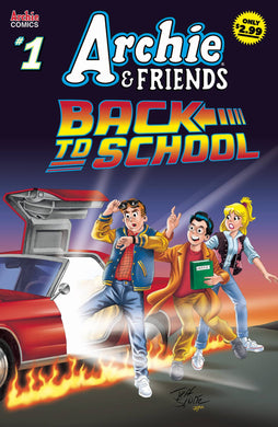 ARCHIE & FRIENDS BACK TO SCHOOL #1 09/04/19 FOC 08/12/19