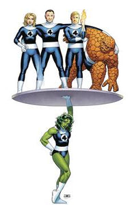 AVENGERS #6 CASSADAY RETURN OF FANTASTIC FOUR VAR FOC 07/30