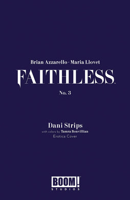 FAITHLESS #3 (OF 5) CVR B EROTICA STRIPS VAR 06/19/19 FOC 05/27/19